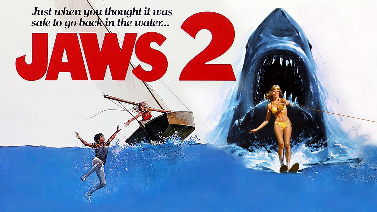 Underrated Sequel Jaws 2 1978 Just When You Thought It Was Safe To By Ian West Medium
