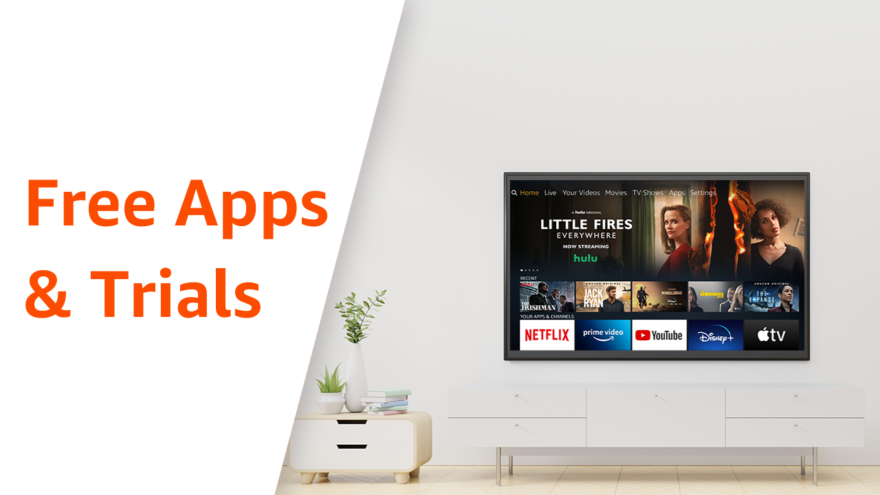 List Of Free Apps Extended Free Trials And Free Content On Fire Tv And Fire Tablet By Erika Takeuchi Amazon Fire Tv