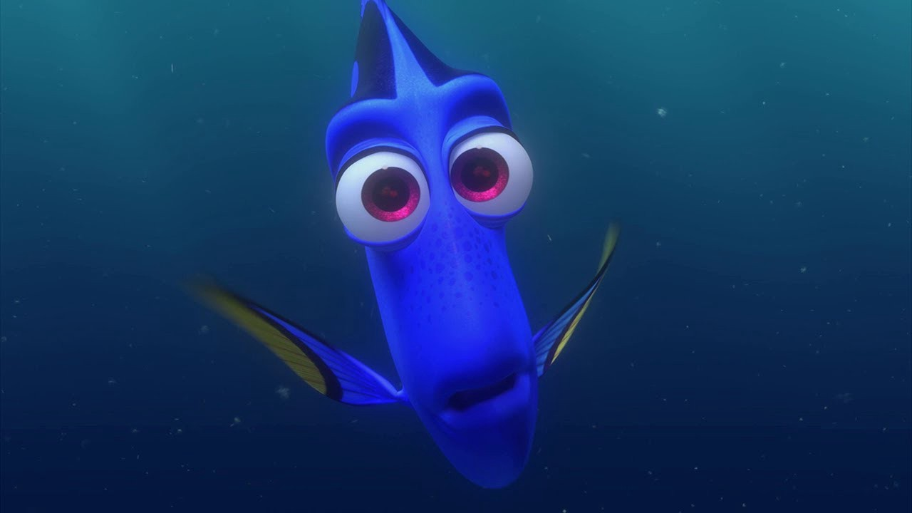"Disney Pixar's ""Finding Dory"" trailer, through a new iPad Pro"