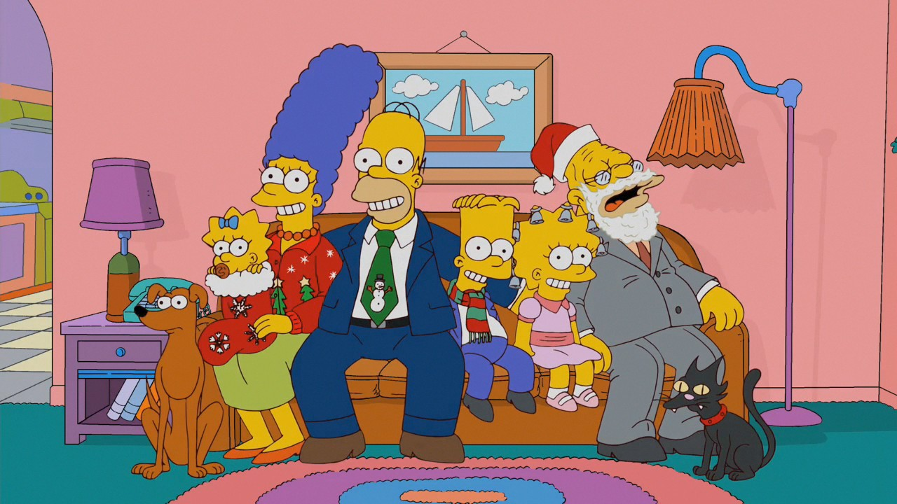 Futurama Christmas Episodes.68 Christmas Specials Of 14 Animated Series Holiday