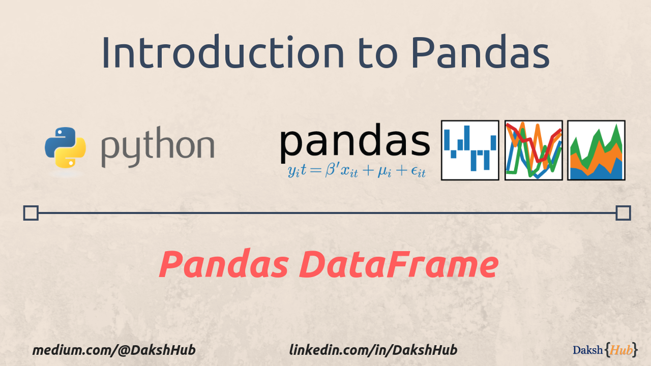 Pandas DataFrame: A lightweight Intro - Towards Data Science