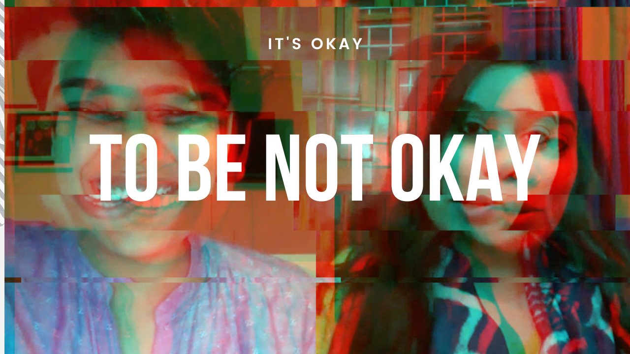 """A screenshot from MadHeart Talks video by the name """"It's ok to be not Okay"""""""
