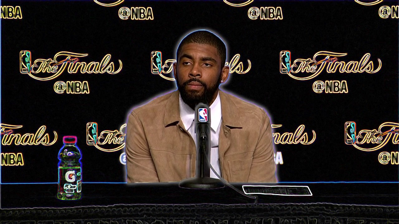 A Few Thoughts On The Kyrie Irving Interview Industry | by Parker Hjelmberg  | UNPLUGG'D MAG