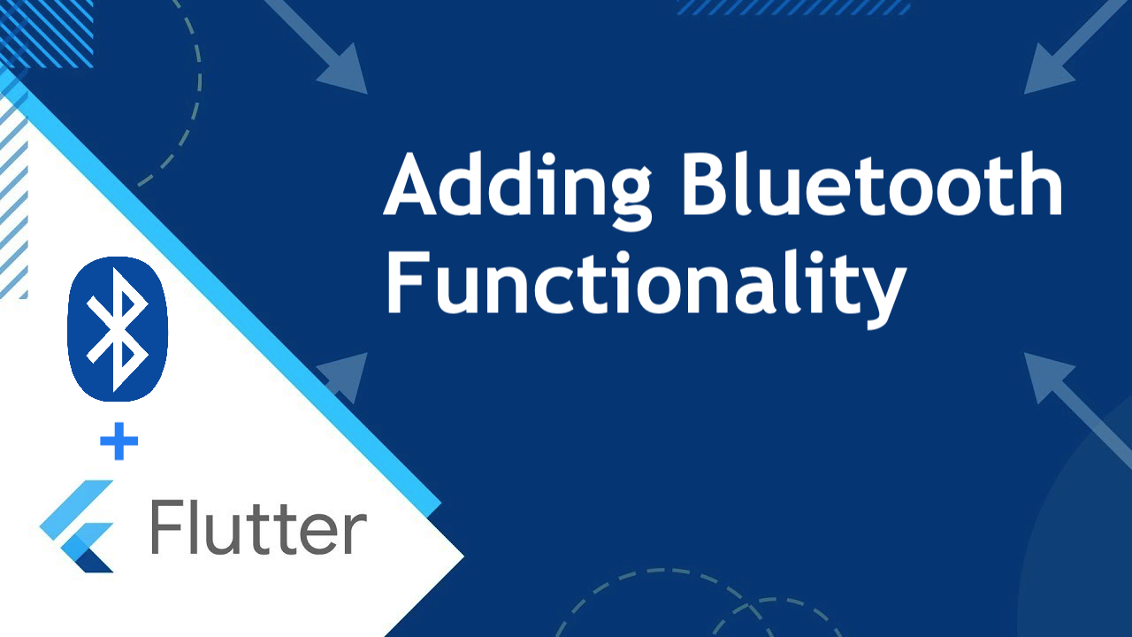 Flutter: Adding Bluetooth Functionality - Flutter Community