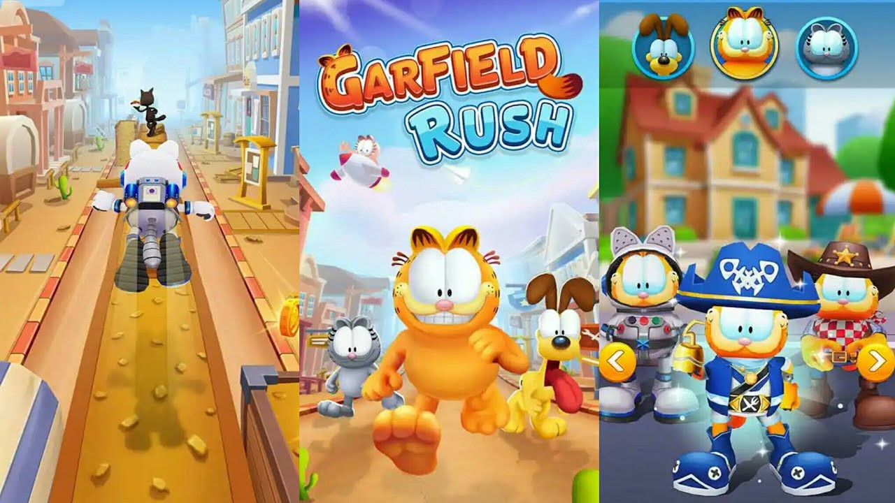 Garfield Rush Hack Tool Mod Apk Hello Today I Want To Show You My New By Joe Worthey Medium