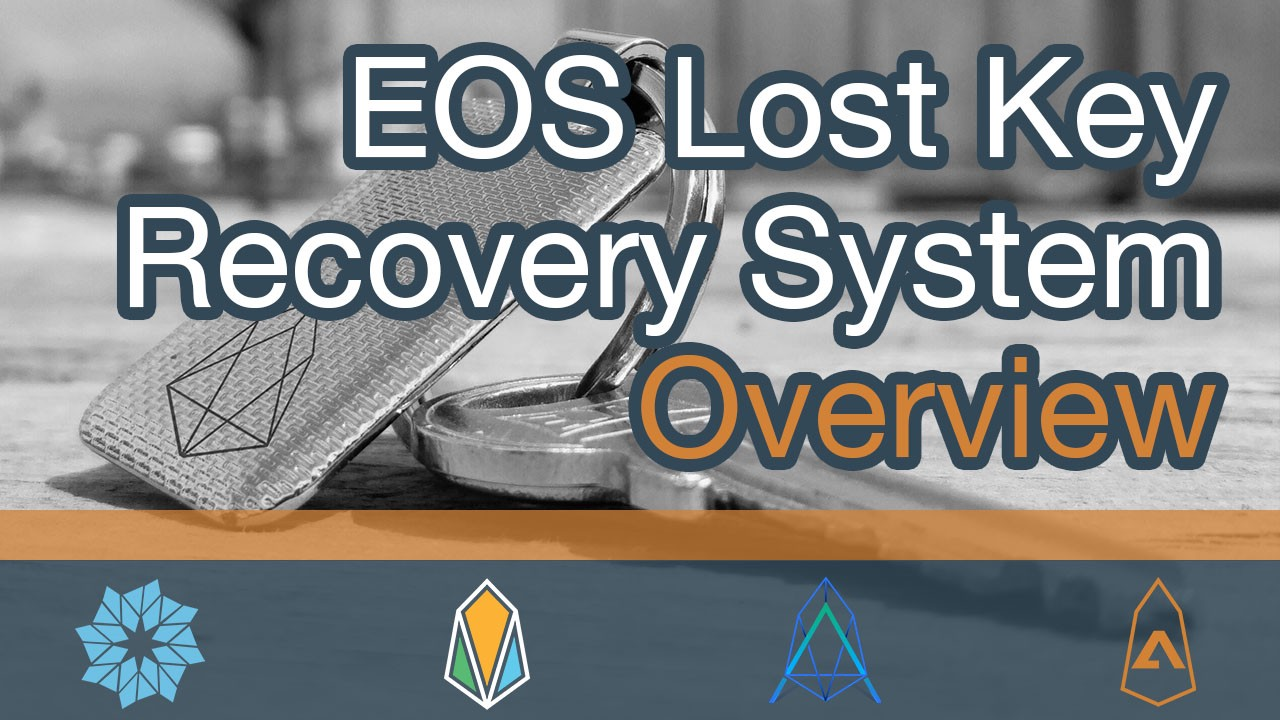The Lost Key Recovery System has been proposed for