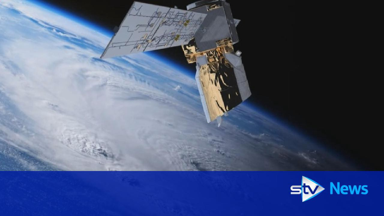 Satellites built in Glasgow ring the earth
