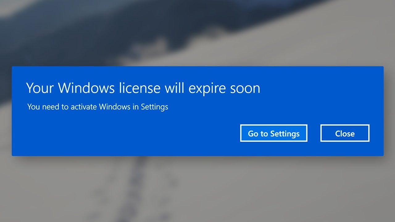 """How to Fix """"Your Windows License will Expire Soon Error ..."""