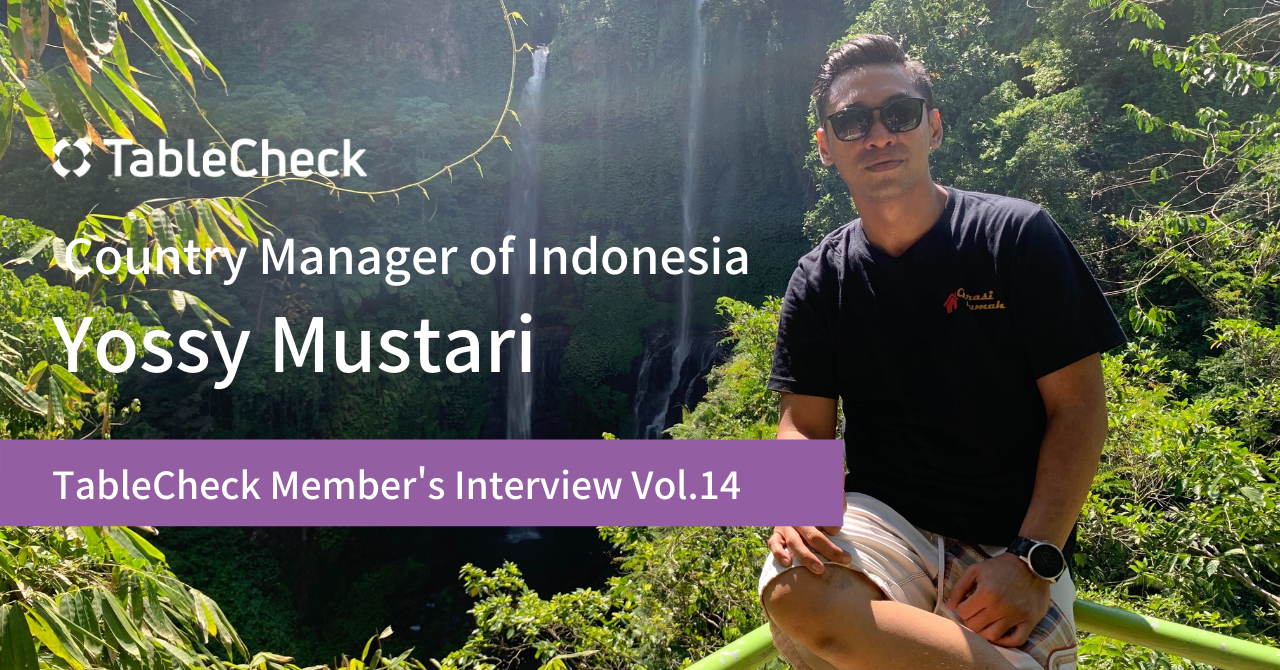 Tablecheck Member Interview Series 14 Yossy Mustari Country Manager Of Indonesia By Tablecheck Medium