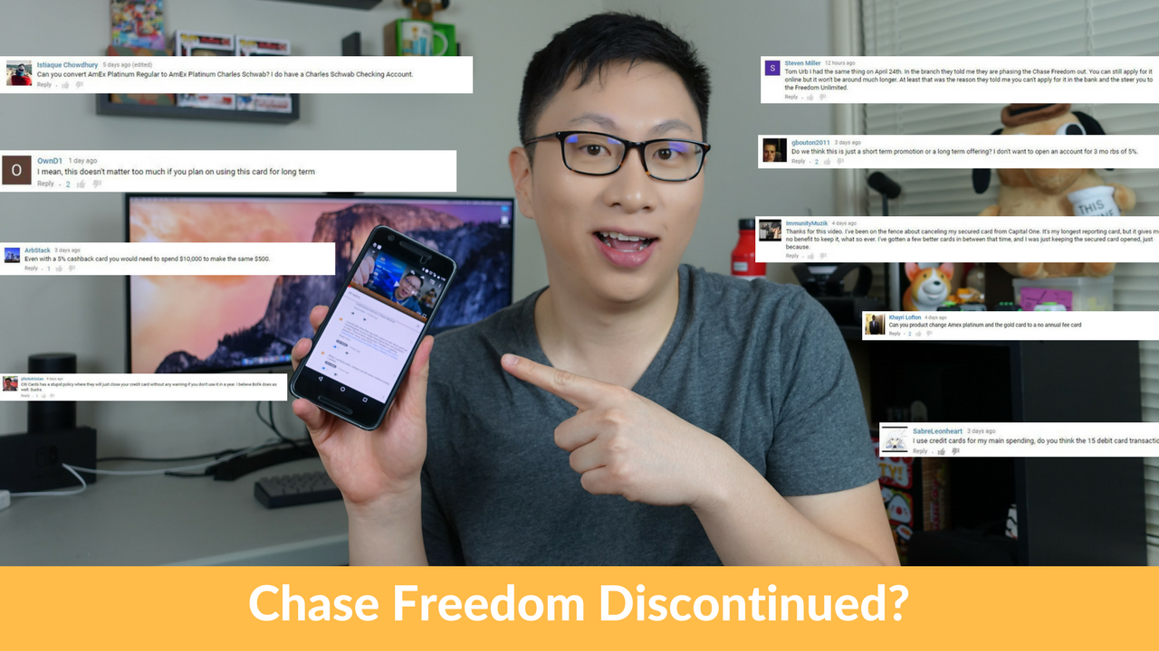 Friday Q&A: Chase Freedom Discontinued? Best Transfer Partner?