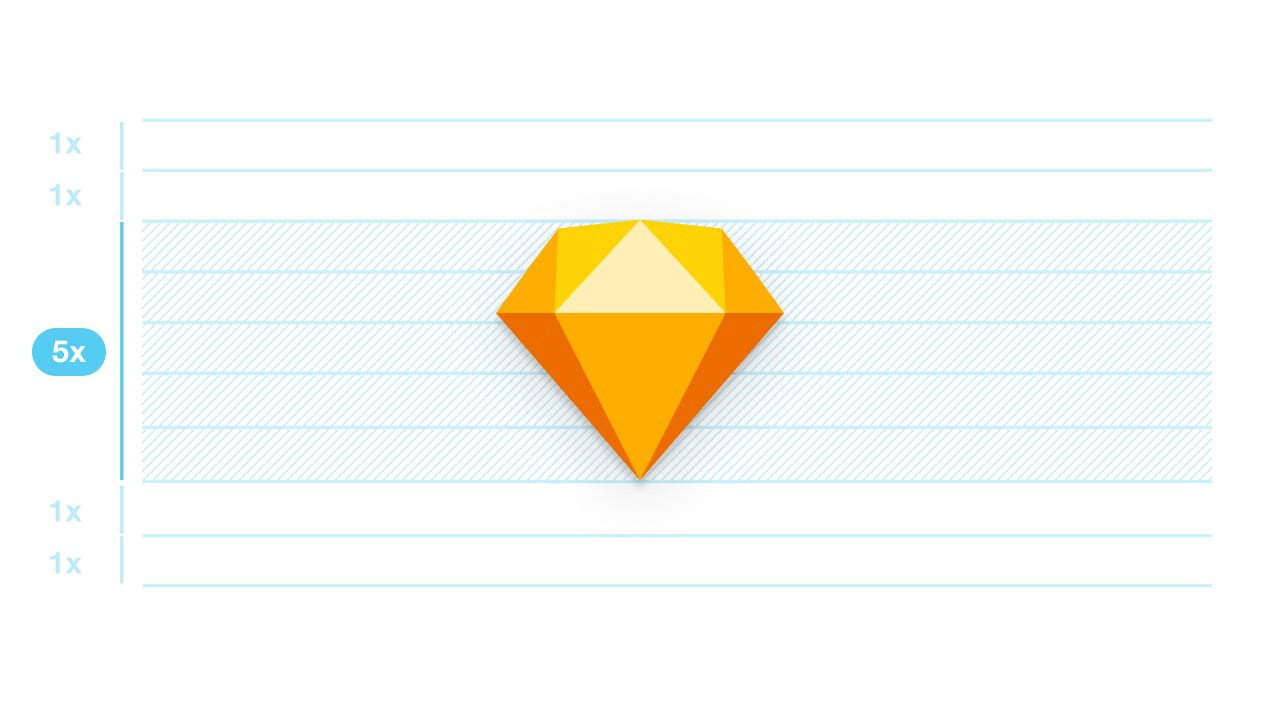 Vertical Rhythm In Sketch Designing With A Baseline Grid In By Matej Latin Prototypr