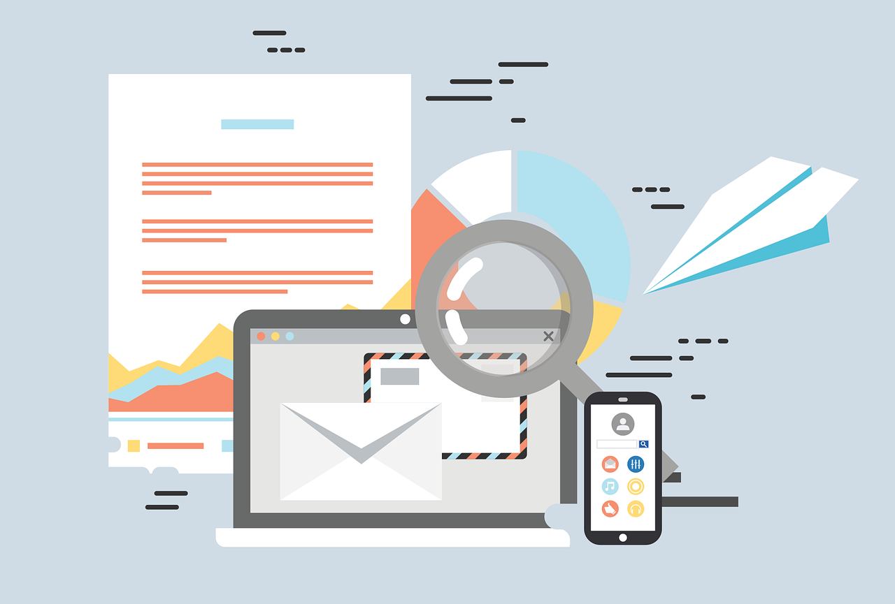 Email marketing in 2021 graphic
