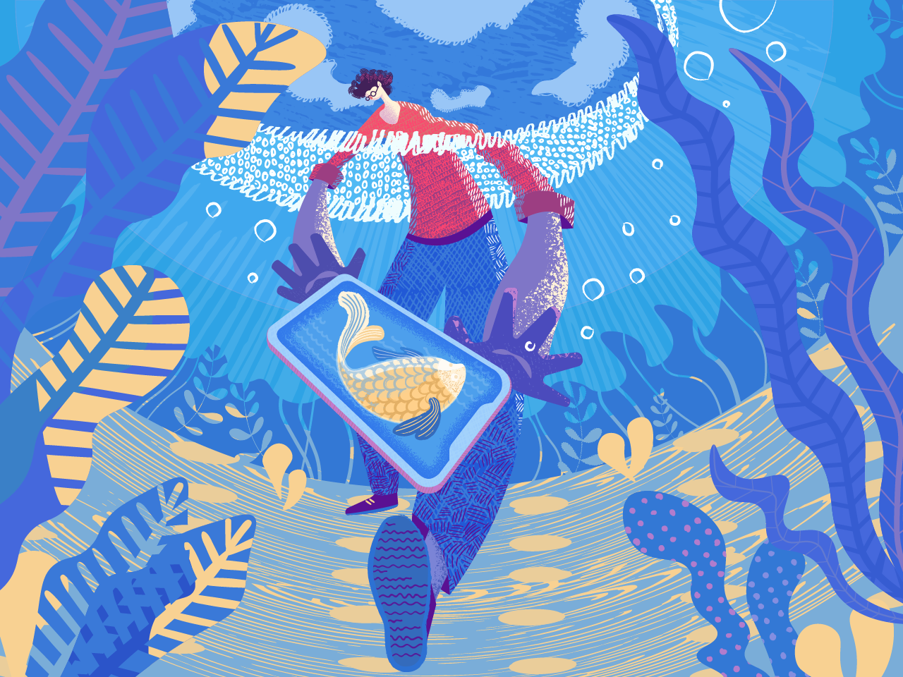 Graphic Design Styles: How To Create Original Flat Illustrations: Tips From