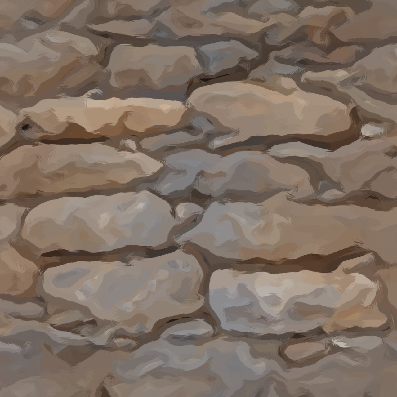 How To Create Hand Painted Textures Without Painting