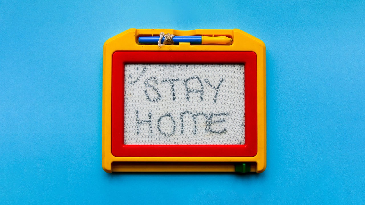 Stay Home — Photo by Glen Carrie https://unsplash.com/@glencarrie