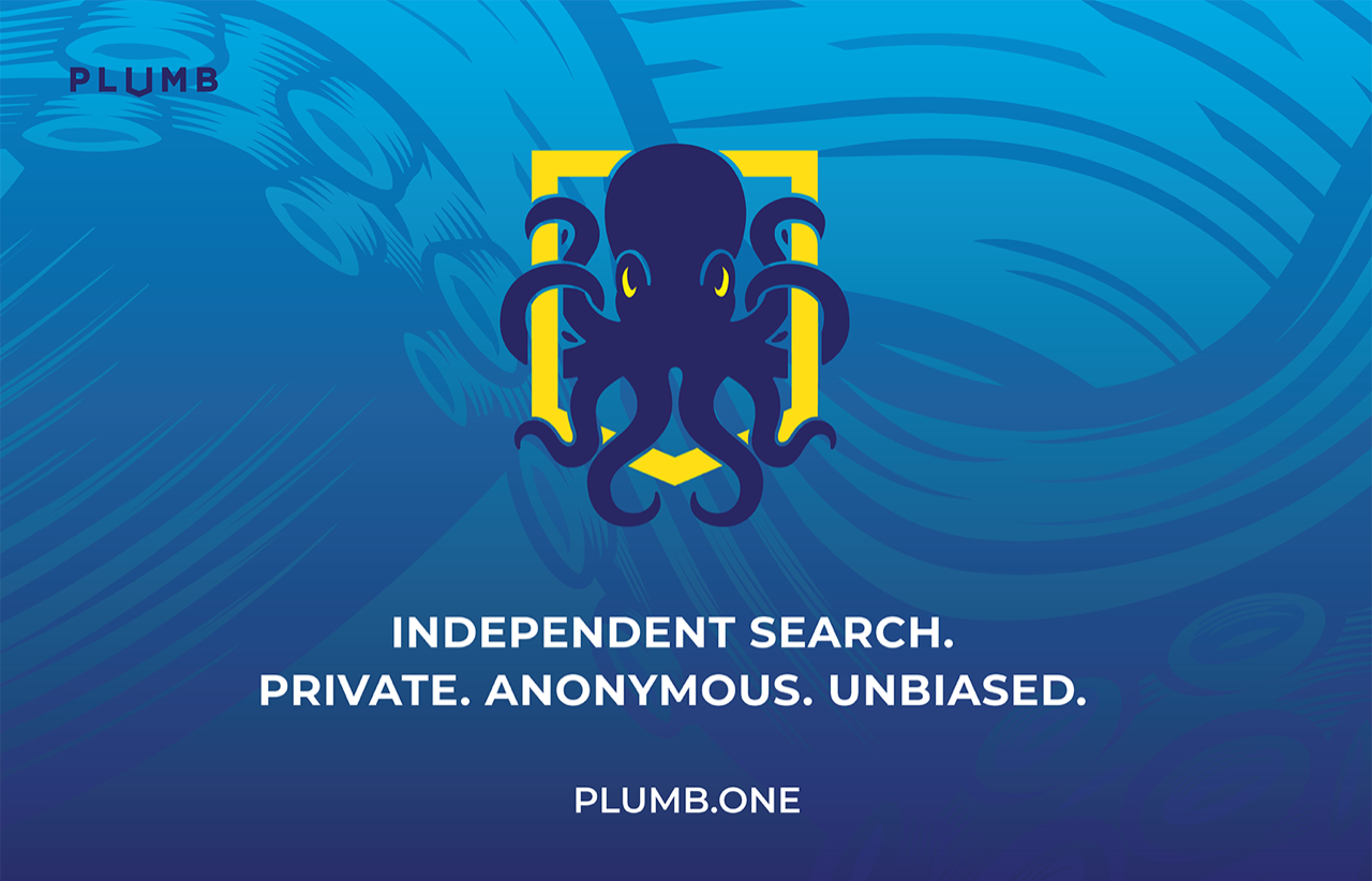 Plumb.one, independent search for independent people