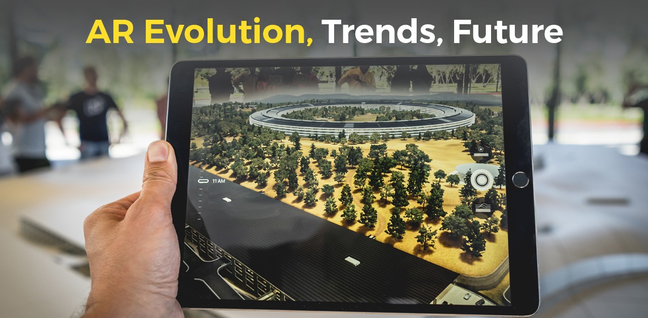 Augmented Reality (AR) Trends: The Past, Present & Future