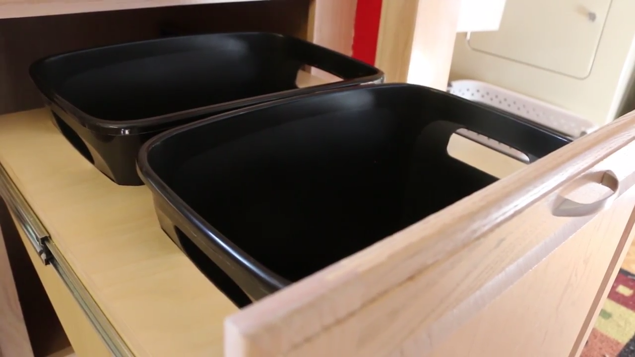 Build A Diy Pull Out Trash Can Cabinet