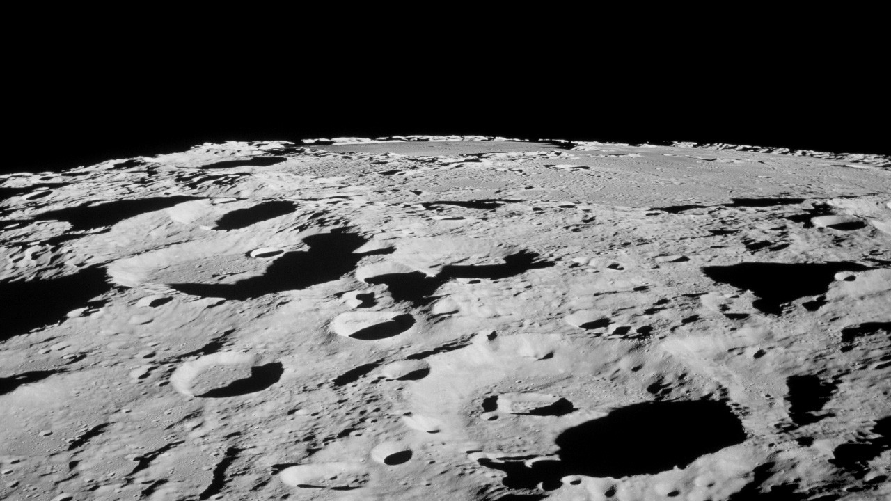 The Moon's surface. Credit: NASA