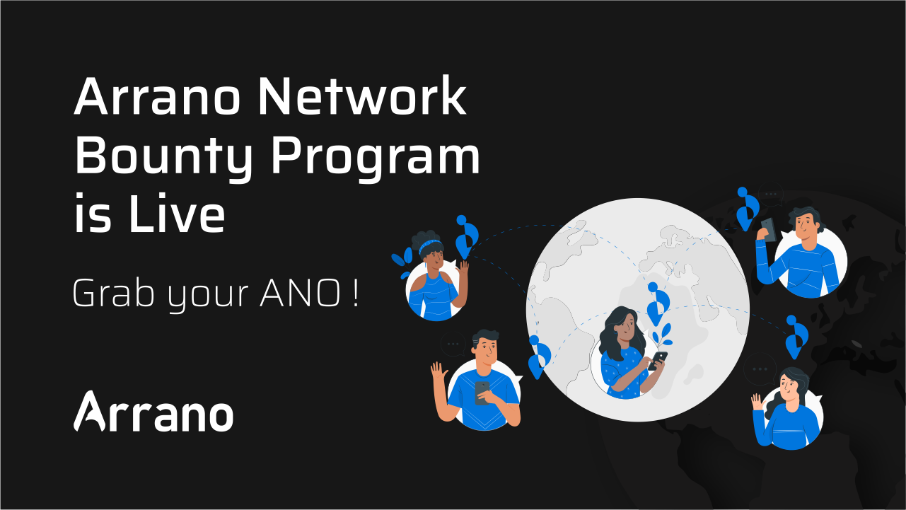 Arrano, The New Age Decentralized exchange releases its bounty program for 1% of supply. www.arrano.network