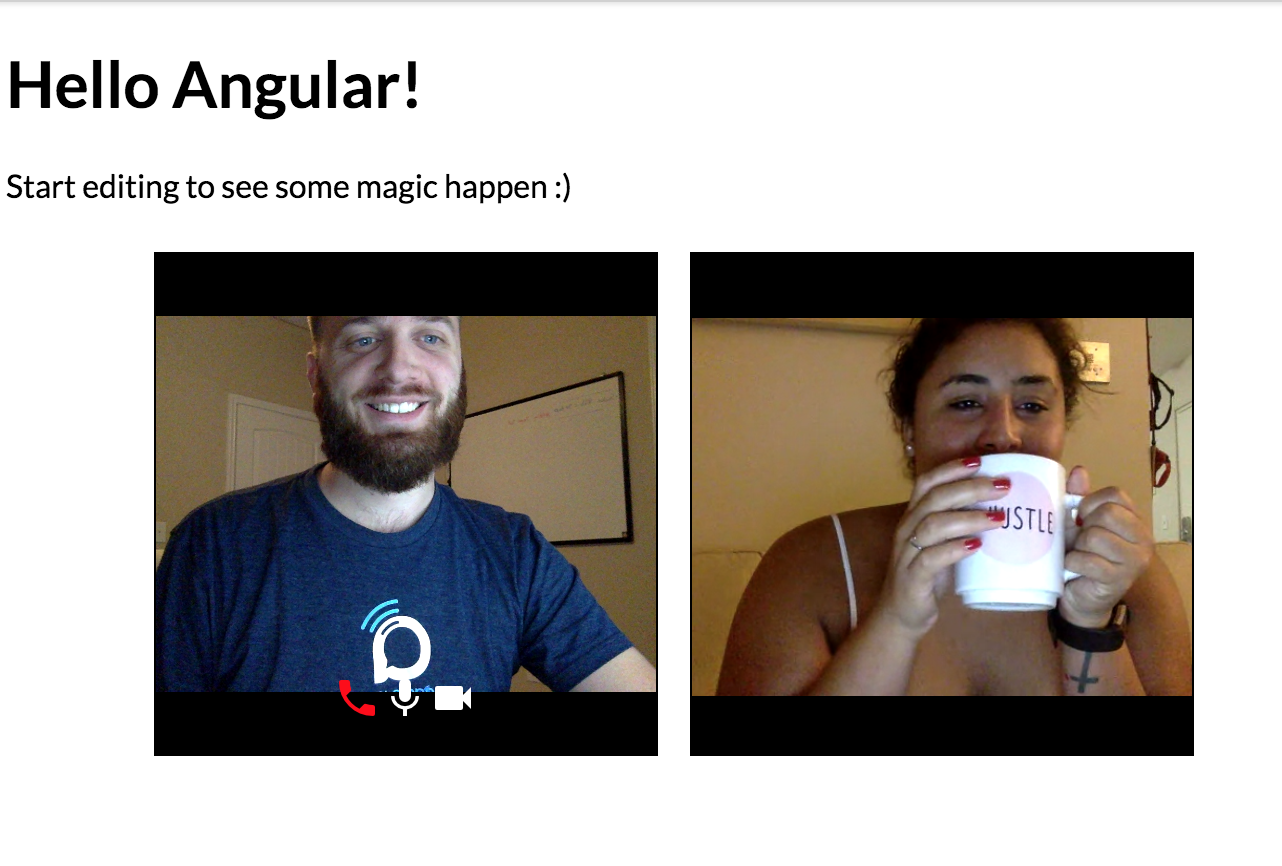 How to build a Video Chat App in < 5 lines of code - Andrew
