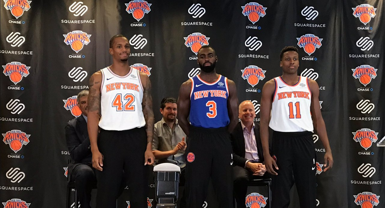 uk availability d6c50 e685d Squarespace, Knicks Partner for Jersey Sponsorship - The ...