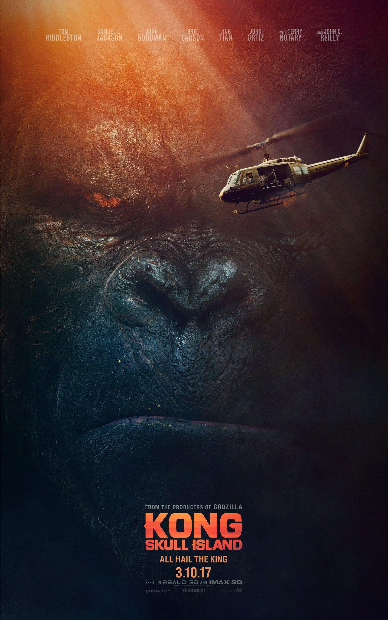 Movie Review Kong Skull Island 2017 By Patrick J Mullen As Vast As Space And As Timeless As Infinity Medium