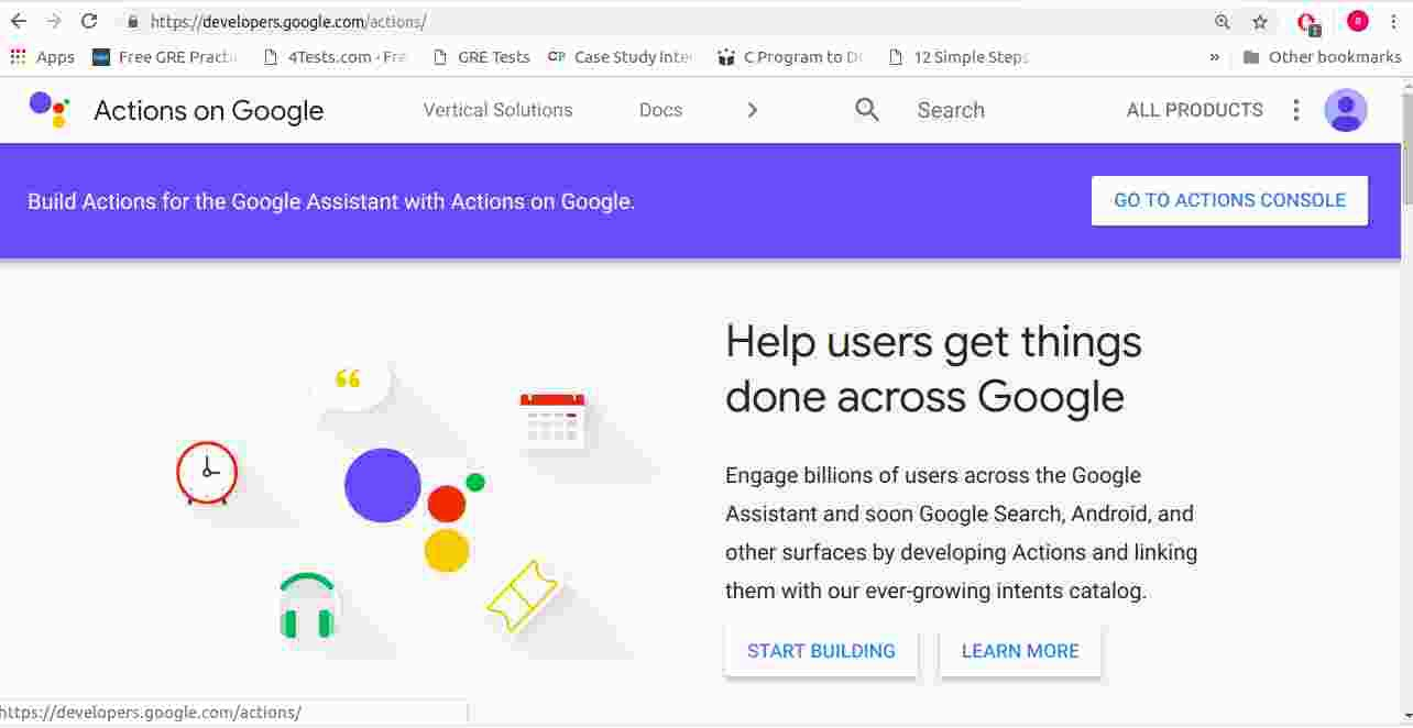 Google Actions tutorial| For Beginners| Template Method| Win