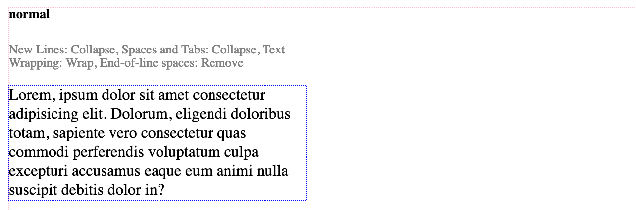 How To Control White Space in Text With CSS - Better