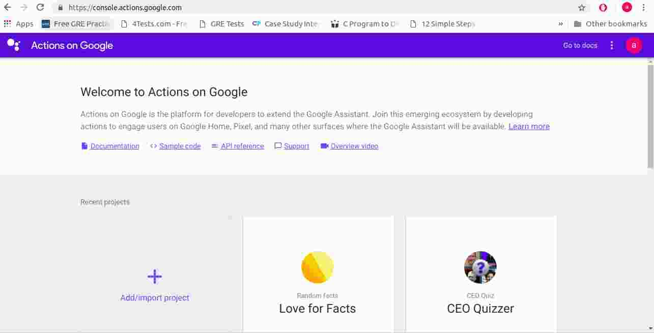 Google Actions tutorial  For Beginners  Template Method  Win