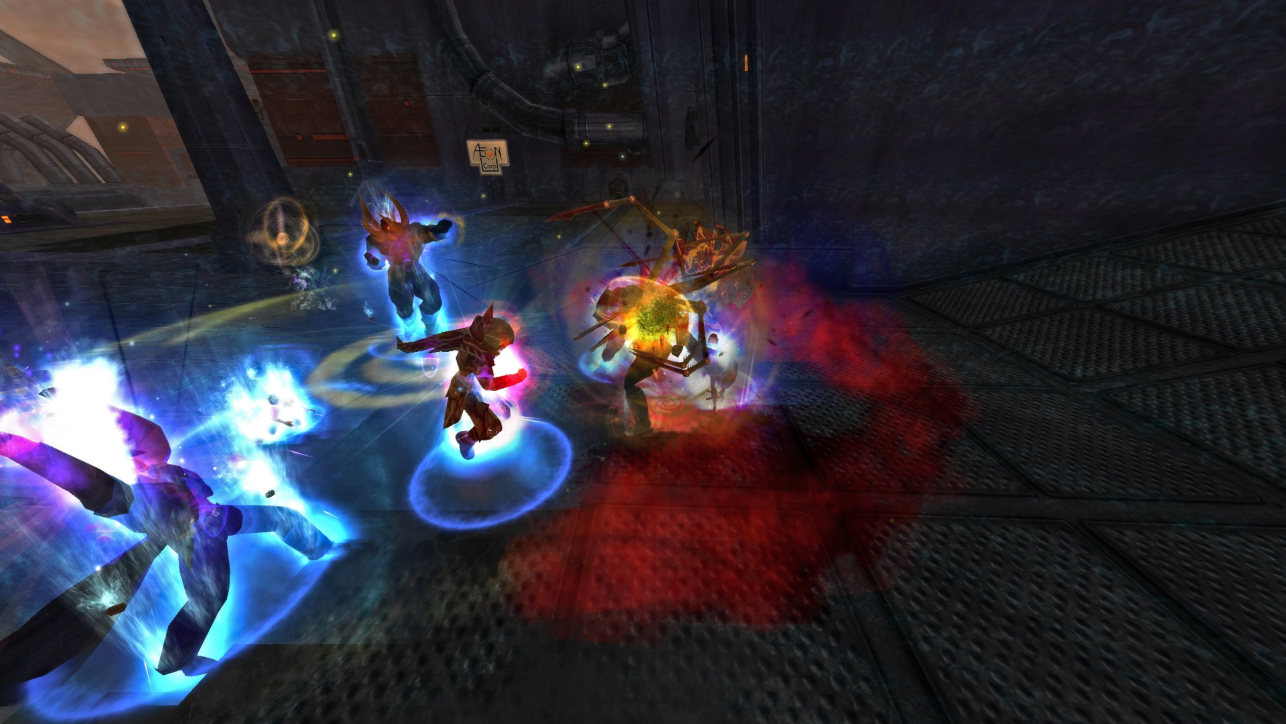 A group of City of Heroes players join forces to take down Lord Recluse.