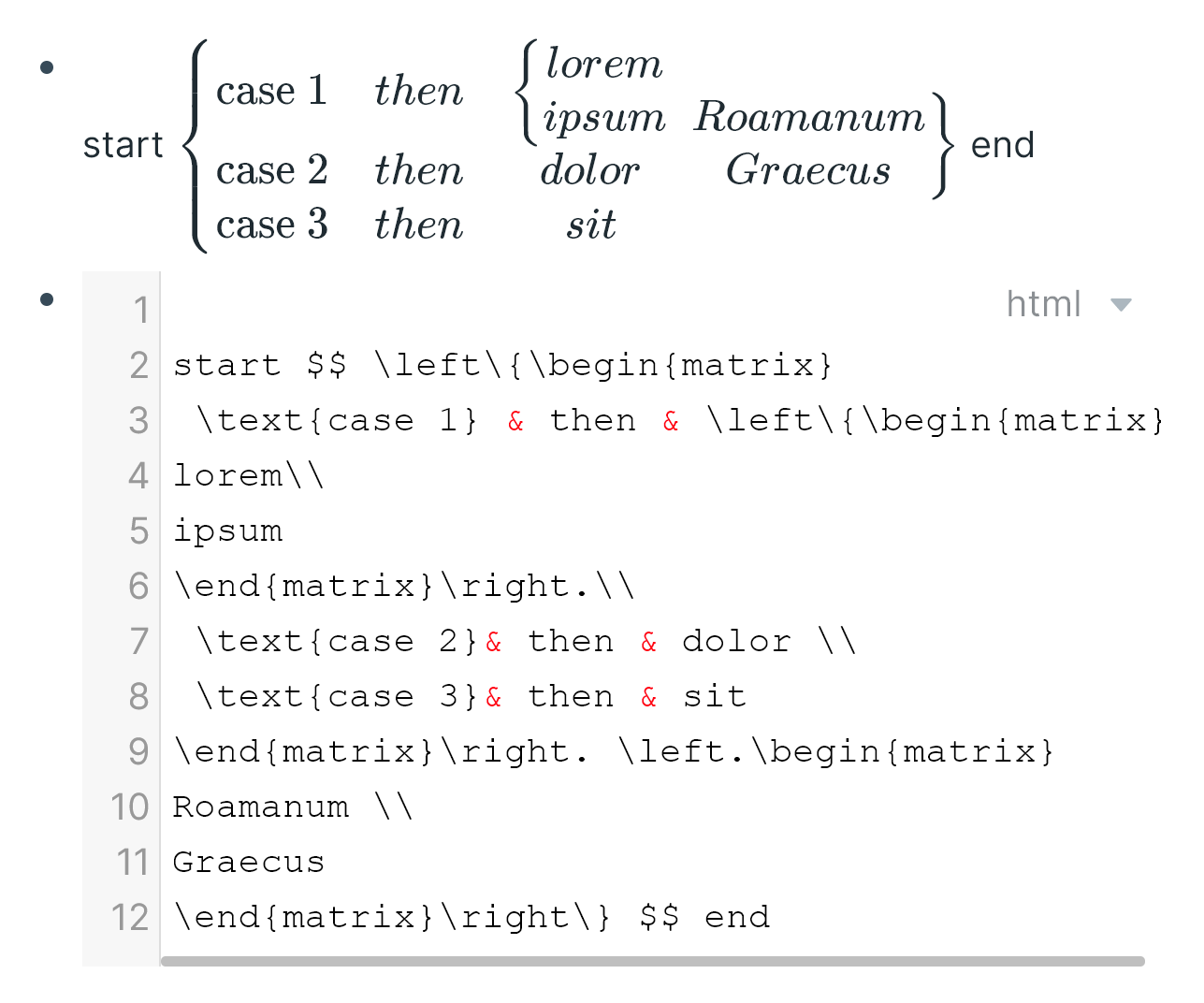An insanely complicated nested matrices in LaTeX.