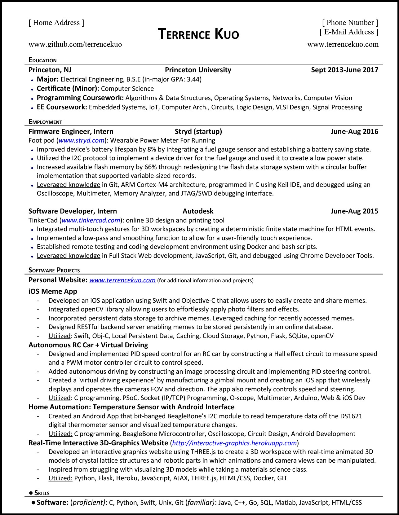 Python Projects For Resume.How To Write A Killer Software Engineering Resume