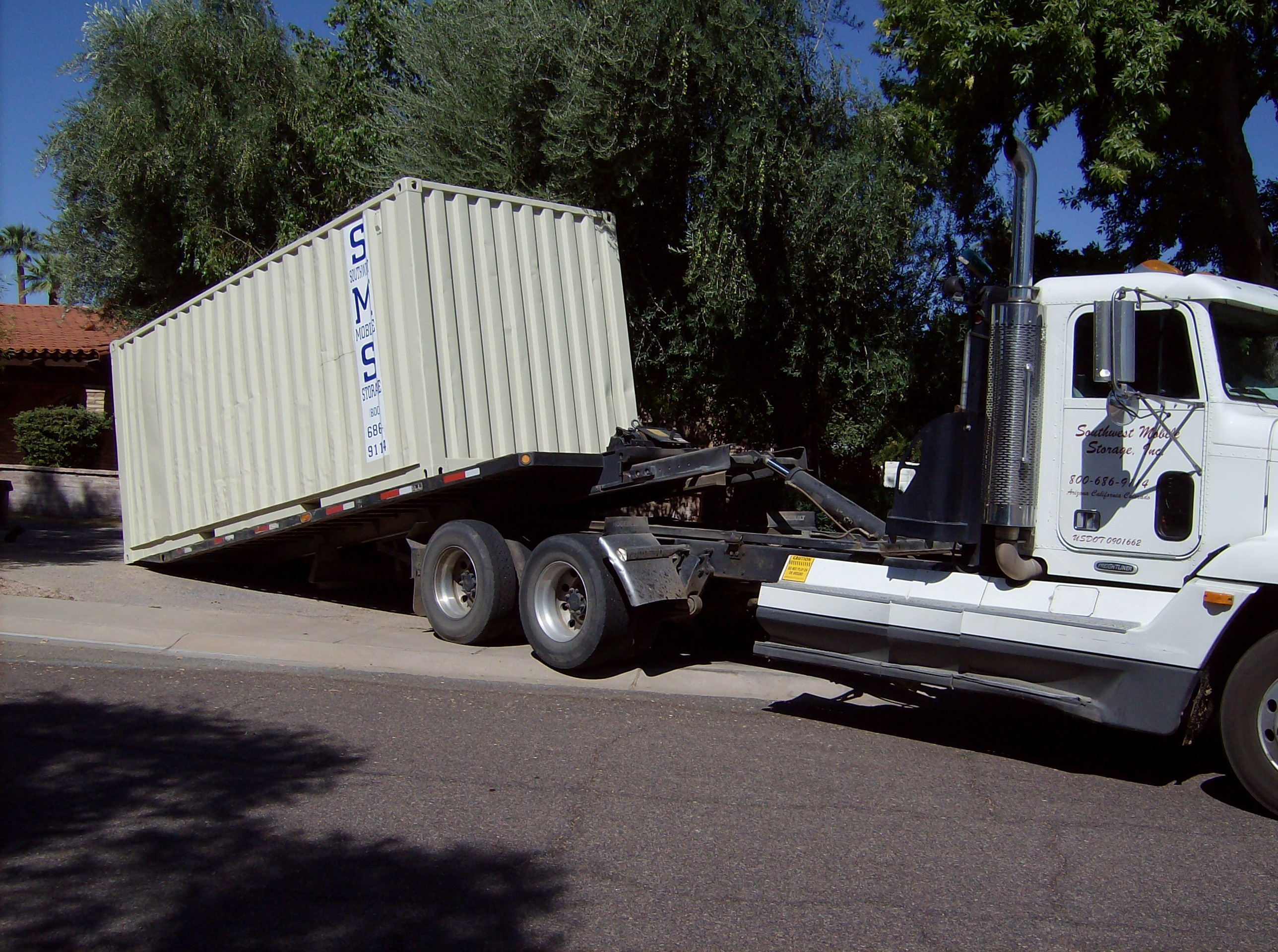 Southwest Mobile Storage Portable Container Delivery