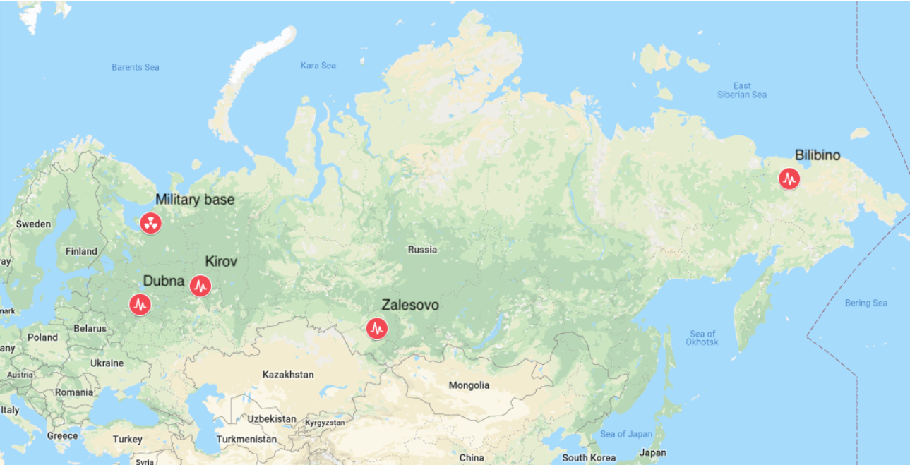 Possible Nuclear Catastrophe in Russia Under Tight Kremlin ... on map of russia color, map of russia elevation, map of russia details, map of russia map, map of russia scale, map of russia topography, map of russia climate, map of russia country, map of russia industry, map of russia transportation, map of russia religion, geography location, map of russia resources, map of russia activity,