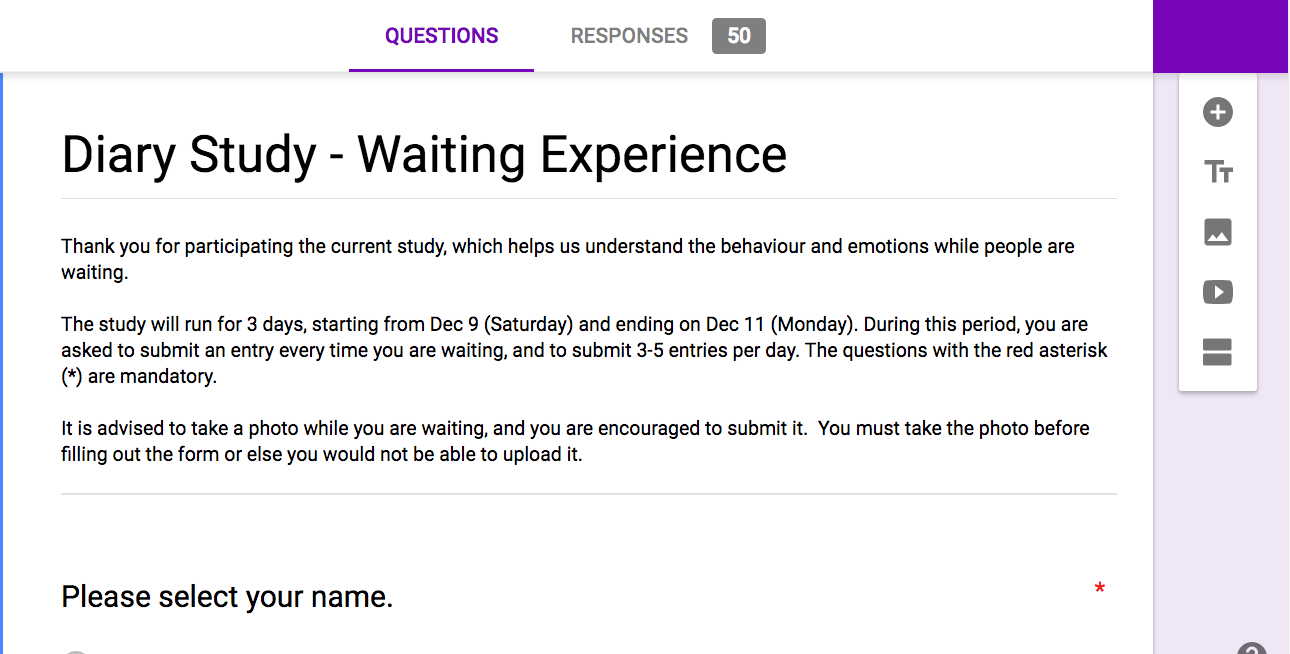 Diary Study Report Waiting Experiences Of Adult Students