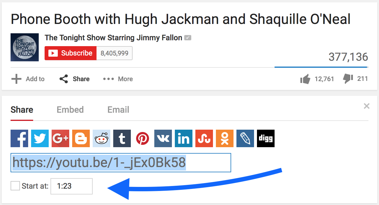 How to Link to Specific Times in a Video: YouTube, Vimeo