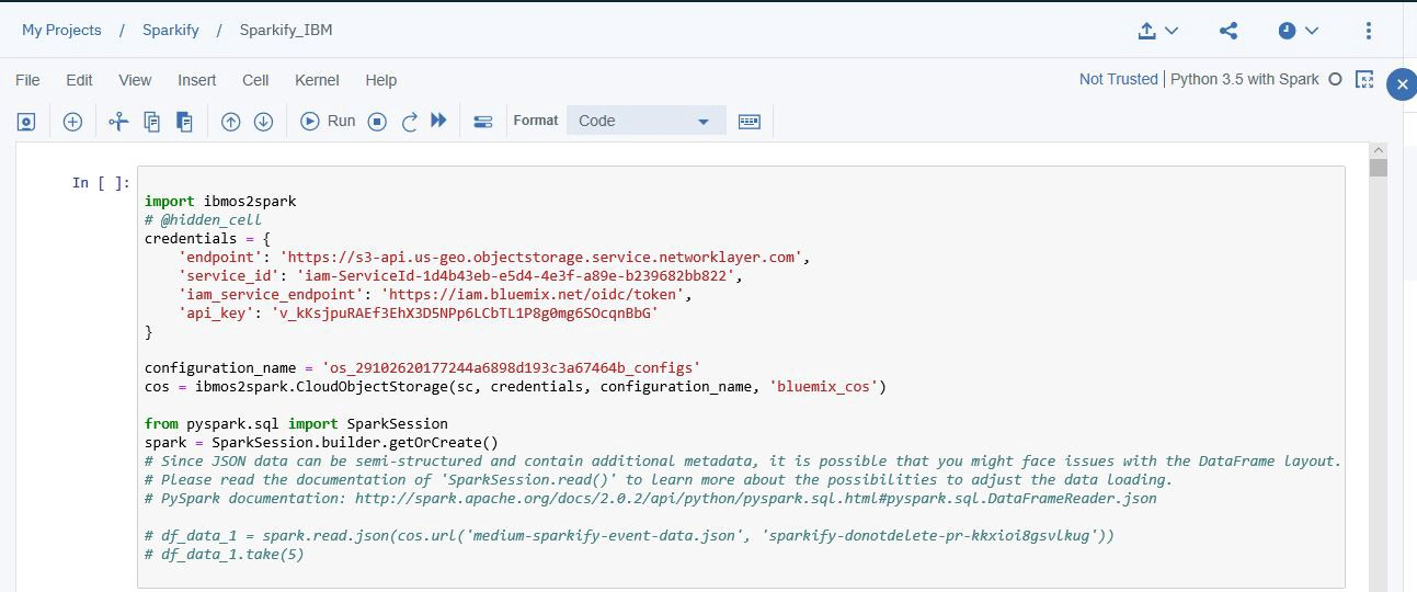 Customer Churn Prediction with PySpark on IBM Watson Studio