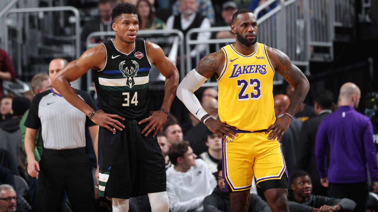 Was Giannis or LeBron the more deserving 2020 NBA MVP candidate? And is there a third candidate we're overlooking?