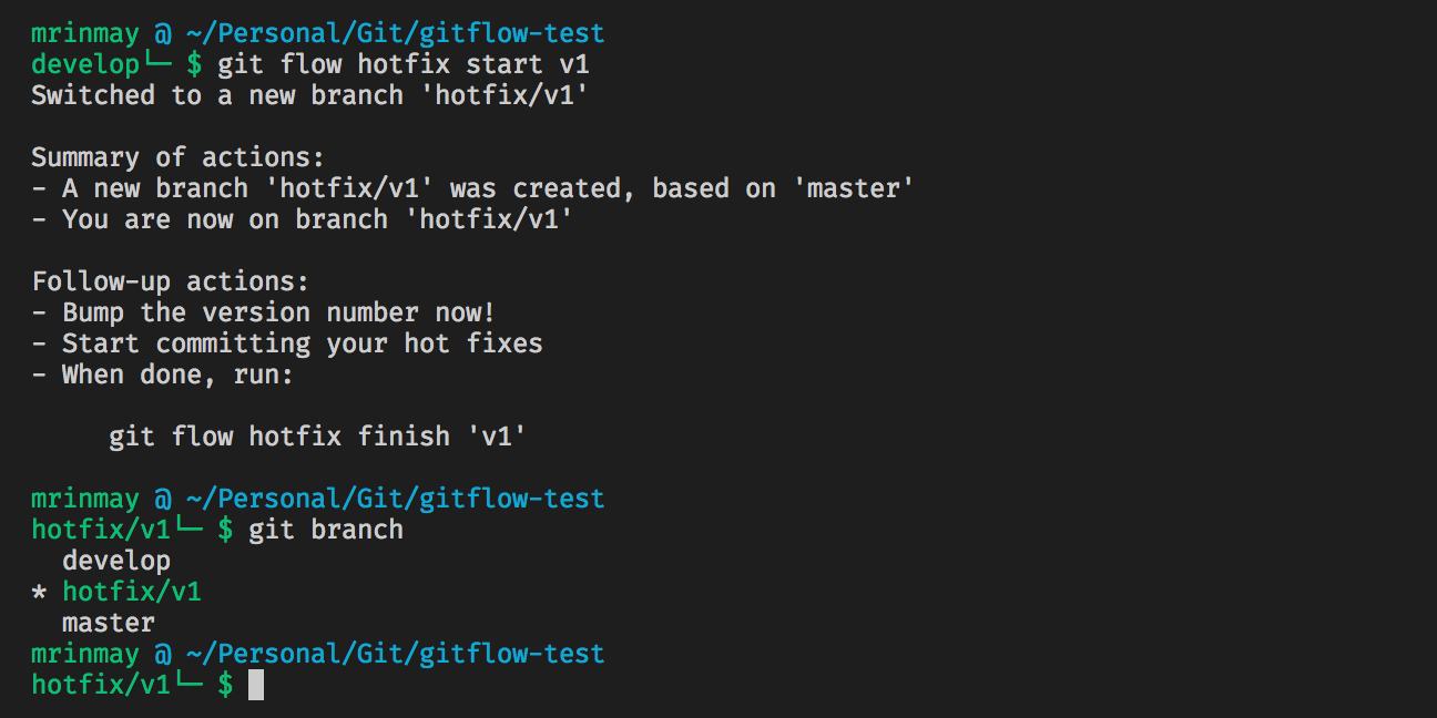 Learn complete Gitflow Workflow basics how to — from start