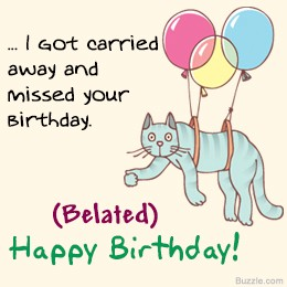 Best Funny Belated Birthday Wishes Happy Belated Birthday New List By Wishes Crown Medium