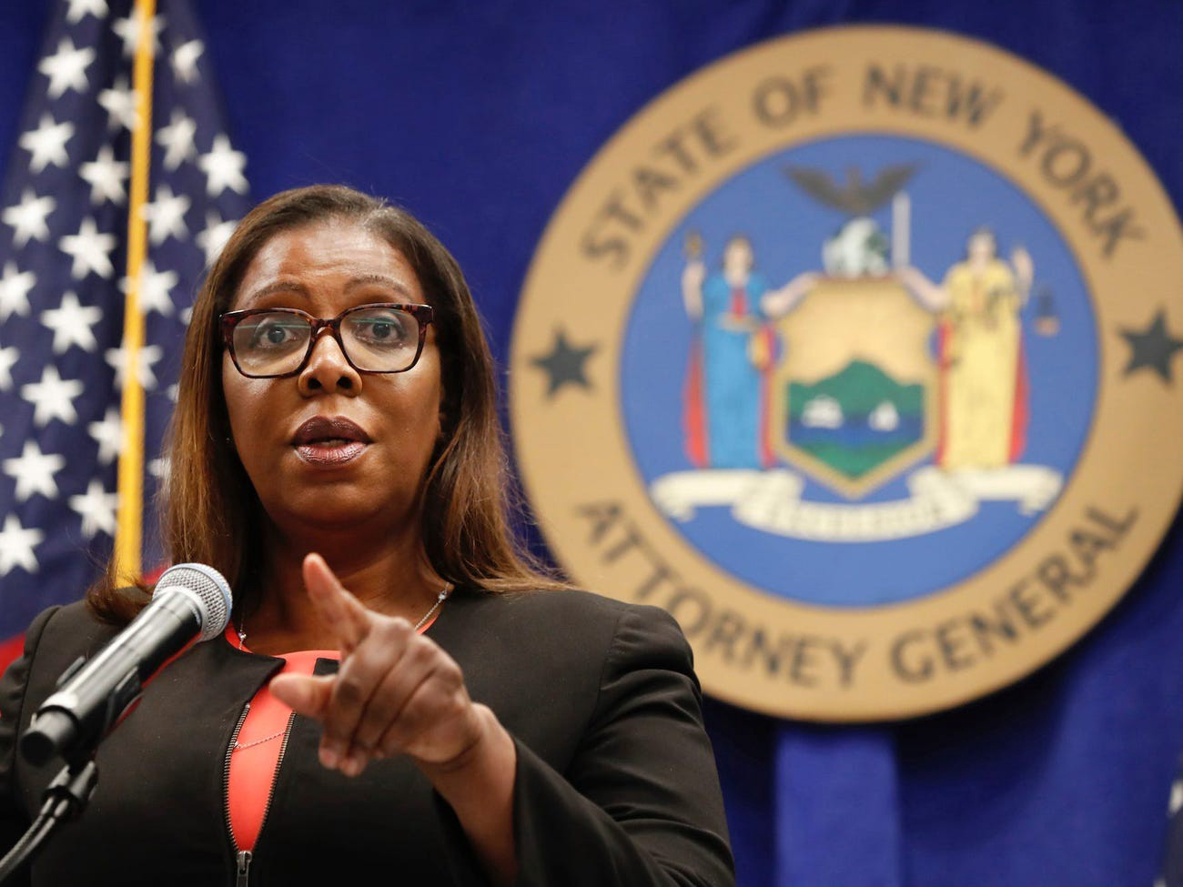 New York State Attorney General Letitia James in August.