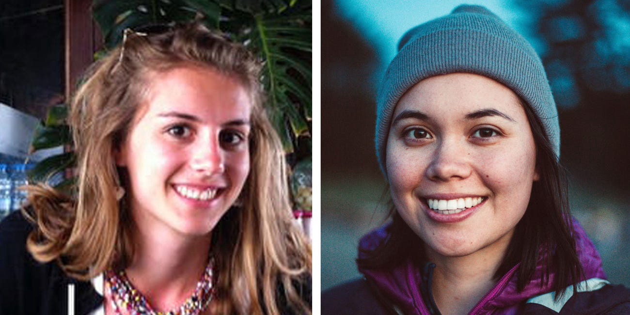 Samya Stumo and Danielle Moore. Both women were killed in the Ethiopian Airlines Boeing 737 Max crash in March 2019.
