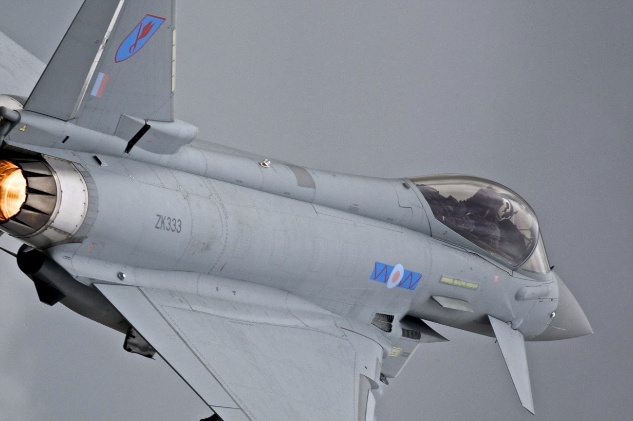 The Eurofighter Typhoon Isn't Stealthy, But It's No Pushover