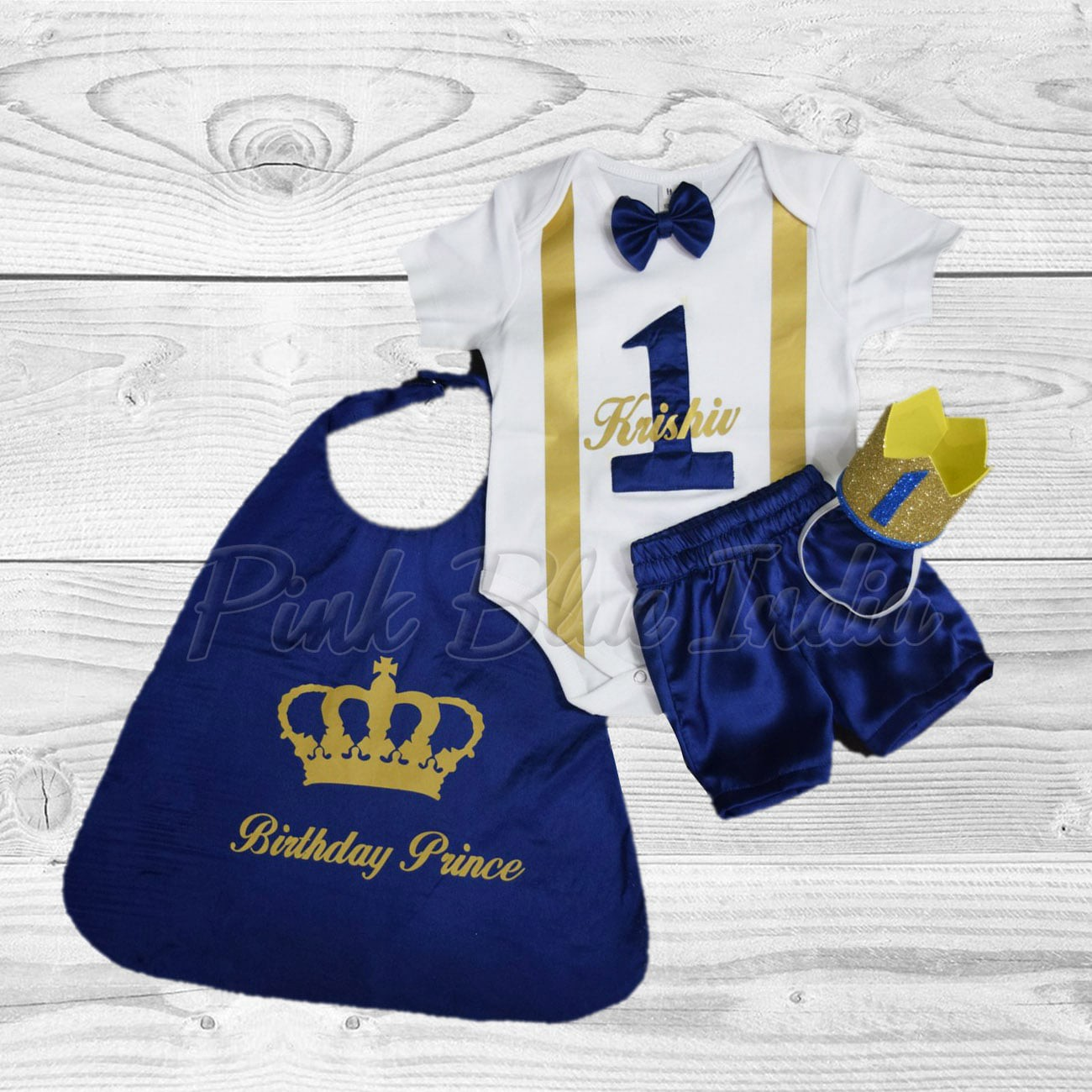 Stupendous First Birthday Cake Smash Outfits For Baby Boys Pink Blue India Funny Birthday Cards Online Inifofree Goldxyz