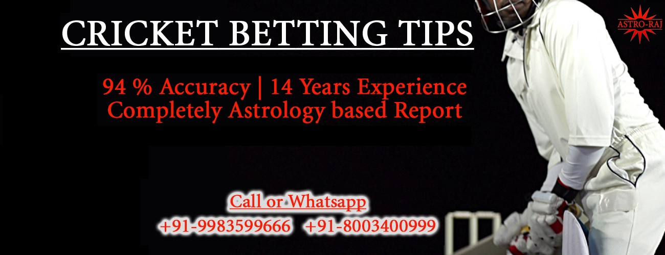 Cricket betting astrology nba 1st quarter betting system