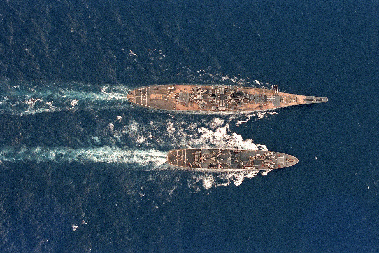 America's Battleships Almost Became Part Aircraft Carriers