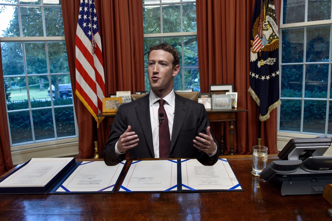 President Mark Zuckerberg? Why Uncle Hotep thinks Mark is