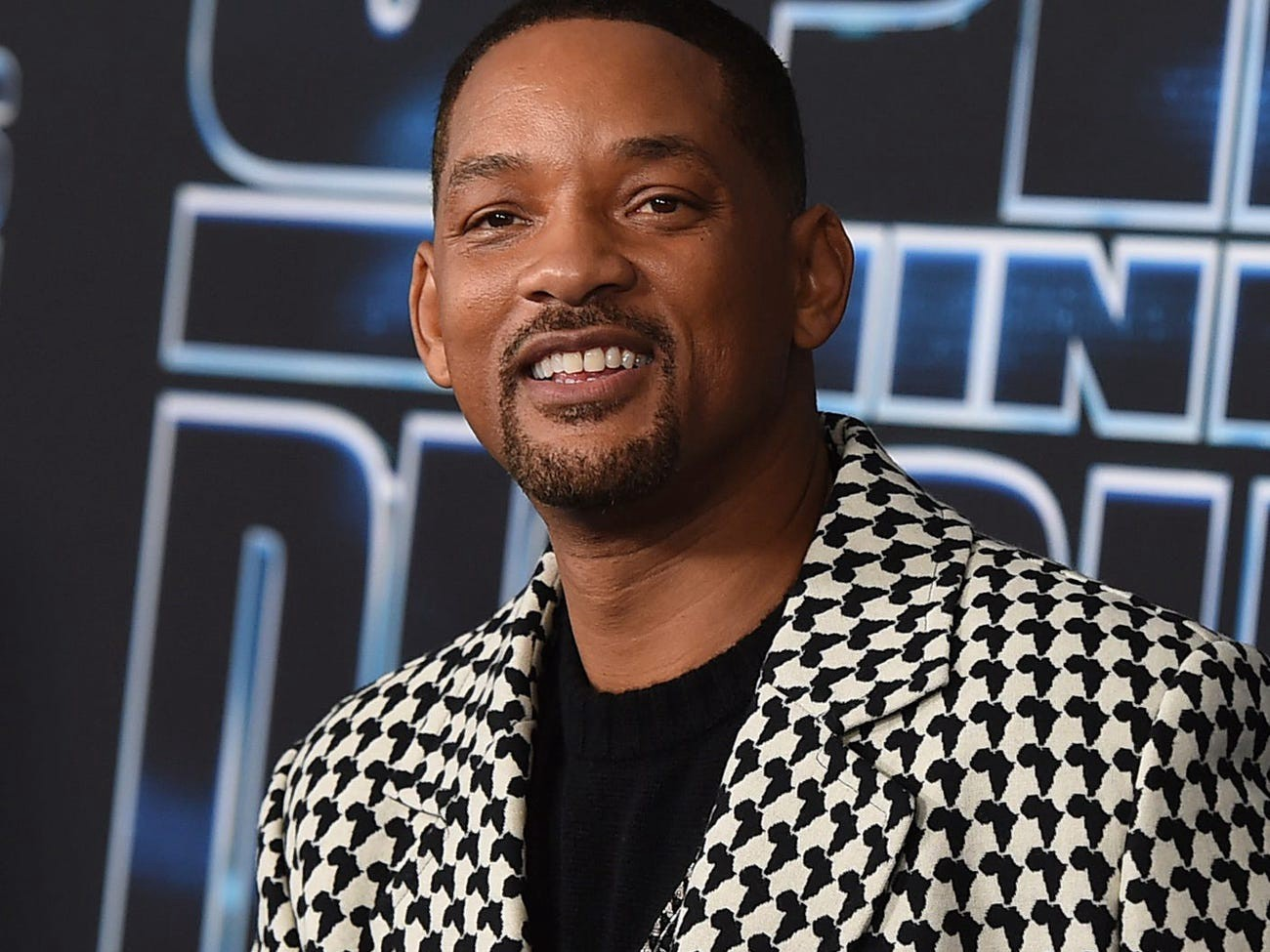 Will Smith at a movie premiere in 2019.