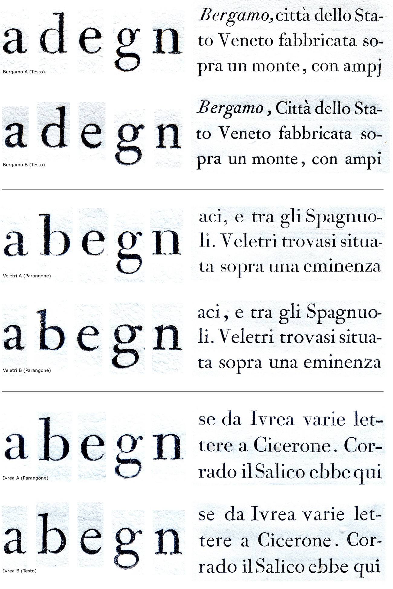 how to type a letter bodoni and his and italic types cast 1788